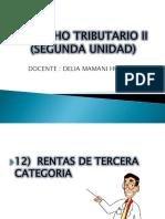 Derecho Tributario II Segunda Unidad