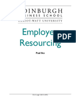 Employee Resourcing Course Taster