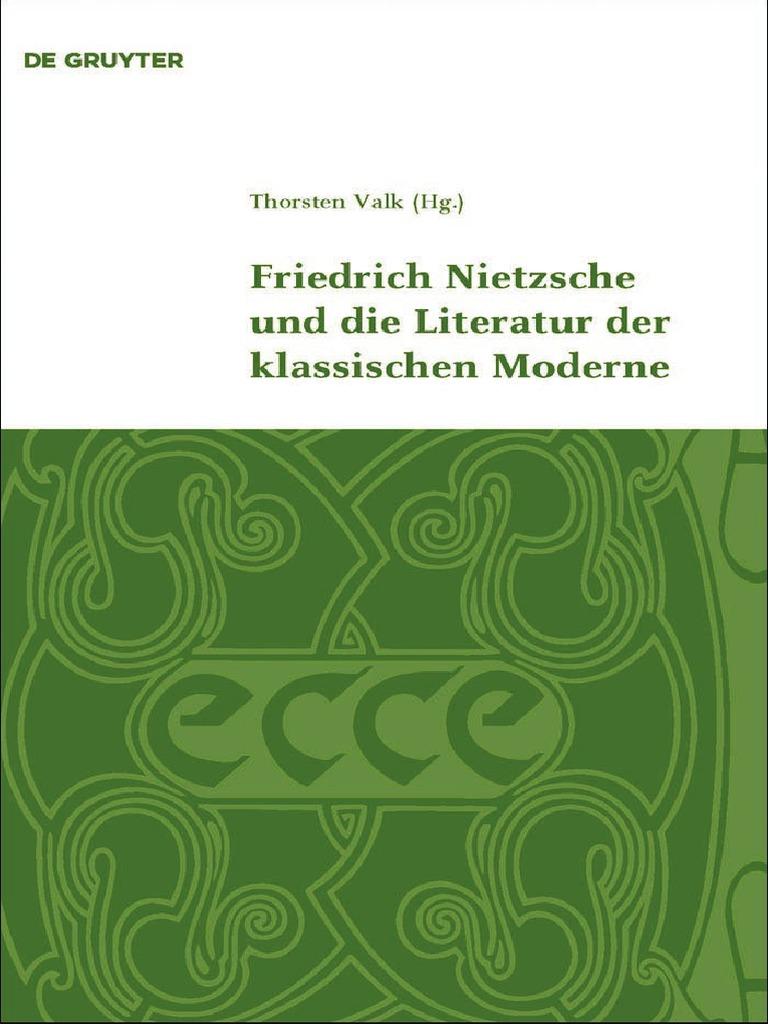 Klassik und Moderne, Band 1) Thorsten Valk-Friedrich Nietzsche und ...