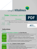 Taller de Diabetes - Wellness México v3
