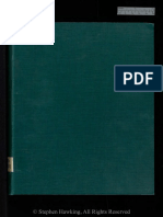 Hawking Stephen - Properties of expanding universes (doctoral thesis)  PHD 05437
