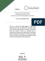 Toolkit Medicion ODS