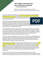 06 - FTL Identidad y Mision Hacia El Siglo XXI Carlos Martinez