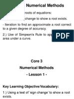 Core3-NumericalMethods