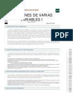 Funcione sDe Varias Variables I OBLIGATORIAS UNED
