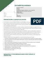 Estadisticabasica Formacion Basica UNED