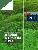 Informe LO RURAL en COSECHA de PAZ
