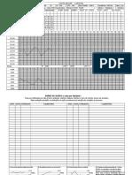 Carta de CEP Variável Exemplo Preenchido