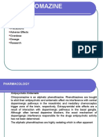 Chlorpromazine in Psychiatry