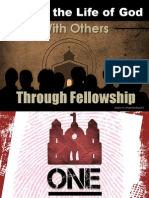 Sharing the Life of God With Others Through Fellowship - One Identity