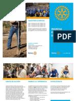 Folleto Rotary