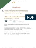 ¿Cómo diseñar un plan de marketing digital__ Guía práctica esencial [+Plantilla]