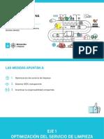 Medidas de Limpieza Intendencia de Montevideo