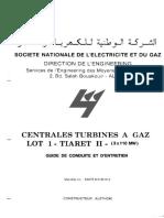 Guide d'Entretien 9001E