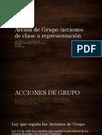 Acción de Grupo Ultimo Documento