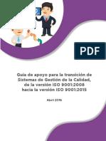 Implementación Iso 9001-2015