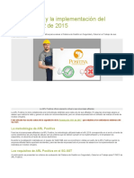 ARL Positiva y La Implementación Del Decreto 1072 de 2015