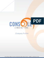 Console India Inc Profile-IT
