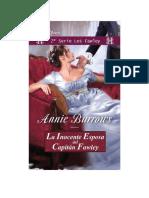 LF,2-La Inocente Esposa Del Cap - Annie Burrows