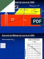 7.Exercício Do Método de Low Et Al. (1990)