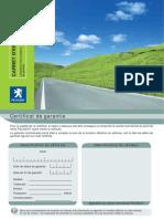Carnet d Entretien Peugeot