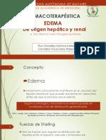 Edema y Diuretic Os Farm A