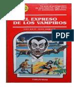 """Librojuego """"Elige tu propia aventura"""" 17 El expreso de los vampiros"""