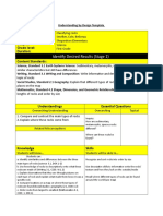 ubd template stage 1 and 2
