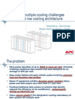 APC Multiple Cooling Issues With Rack & InRow Solutions