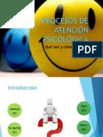 Consejeria y Procesos Psicológicos Básicos