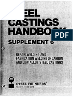 SCH, S6, Repair Welding and Fabrication Welding of Carbon