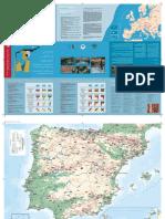 Mapa Senderos Gr Espana Y Portugal