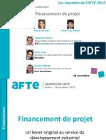 Presentation 18 11 Financement Projet Diffusion