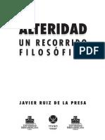 De La Presa Javier - Alteridad Un Recorrido Filosofico.pdf
