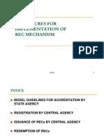 Procedures REC Implementation Presentation by NLDC