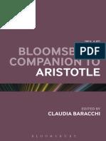 Baracchi, C. (Ed.) - The Bloomsbury Companion to Aristotle (2014)