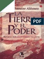 Fontaine, A. (2001).  La Tierra y el Poder, Reforma Agraria en Chile, 1964-1973-(L).pdf