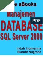 SQL Server 2000 - Dasar Manajemen Database Untuk Pemula
