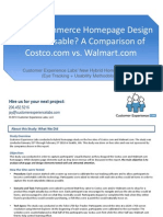 Eye Tracking Homepage Study - Customer Experience Labs Hybrid Homepage Study