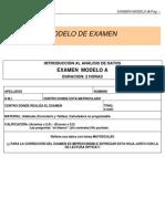 Ejemplo de examen