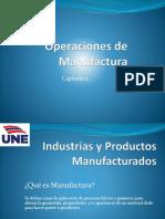 Manufactura. Atributos Geometricos de Partes
