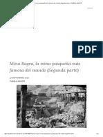 Mina Ragra, La Mina Pasqueña Más Famosa Del Mundo (Segunda Parte) – PUEBLO MARTIR