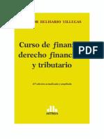 Curso de derecho tributario Villegas 2016