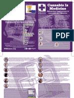 UPA Cannabis Stories Leaflet
