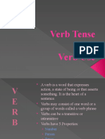 FSB Verb Tense and Uses Report