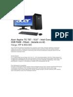 Acer Aspire TC 707.Docx