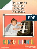 Que Fácil Es Aprender Organo y Teclado 1