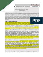 A dimensão política do Cartel - Ricardo Seldes