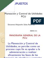 Planeacion y Control de Utilidades