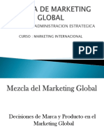 Mezcla de Marketing Global Final